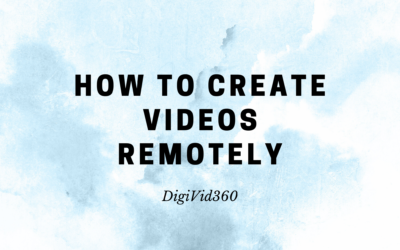 How to create videos remotely