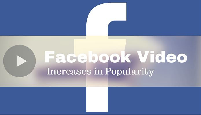 Facebook Video Increases in Popularity
